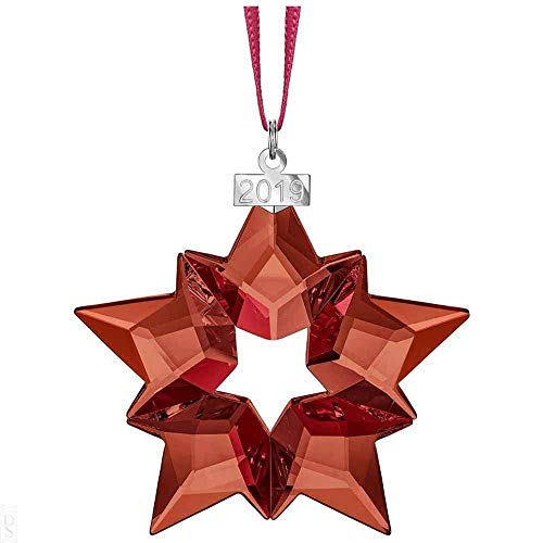 Swarovski Crystal Red Star Holiday Ornament Annual Edition 2019