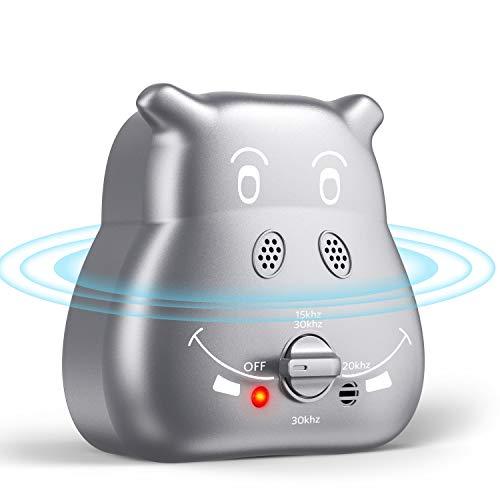 ulocool Anti-Bellen-Gerät, Ultraschall Hunde Repeller mit 3 einstellbaren Ultraschall-Lautstärkepegeln, Sichere und Schmerzfreie Hunderkontrolle für den Innen und Außenbereich
