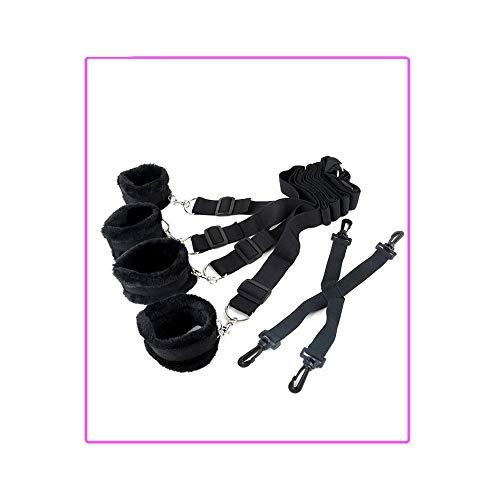 Geschikt voor alle bedtypes en maten, donsklemmen zijn geschikt voor gebruik op matrassen (zwart) A400