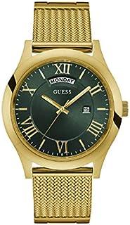 ساعة رسمية للرجال من جيس، بهيكل ستانلس ستيل، مينا باللون الاخضر، انالوج - طراز W0923G2
