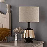WMZGDHL ガラステーブルランプテーブルランプホームランプ装飾テーブルランプホーム装飾テーブルランプ寝室のベッドサイドランプE27