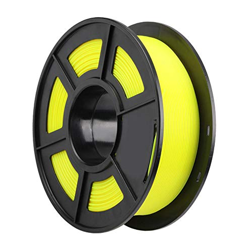 PLA filament 1.75mm, 3D printer filament 1kg, provide a variety of optional colors-Yellow
