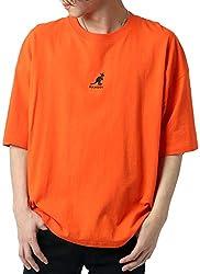 [カンゴール] Tシャツ 刺繍 ロゴ 半袖 メンズ