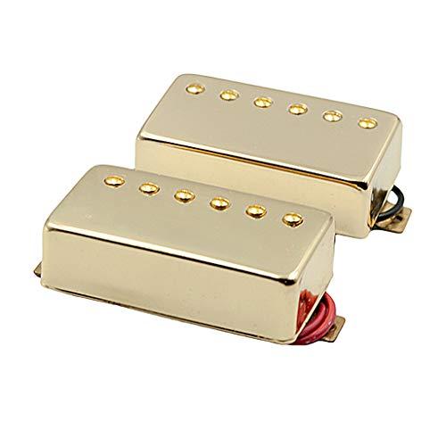 Pastillas De Guitarra Eléctrica 2 Piezas Neck Bridge Alnico V, Oro