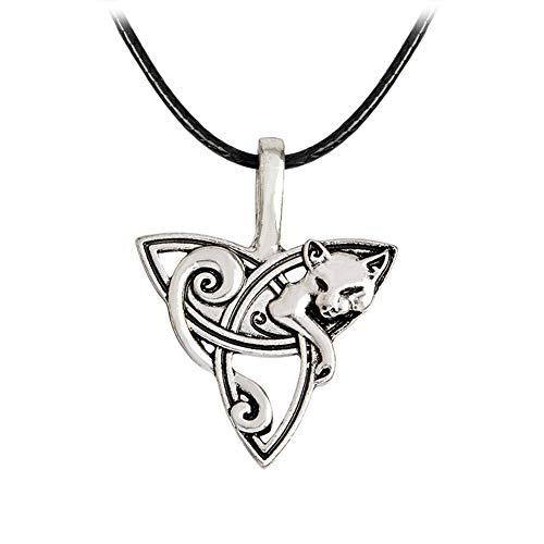 Collar Mujer Clásico Collar Esposa Collar Elegante Collar Collar de Collar romántico Collar de Moda Collar para Novia Collar de águila Zorro Lobo Fox