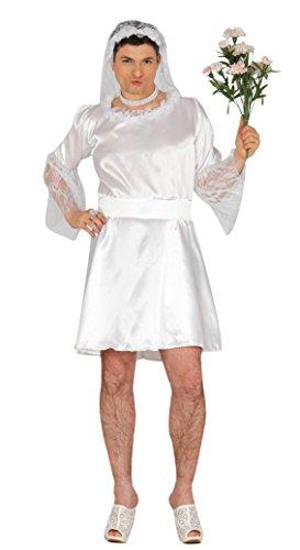 Costume da sposa per uomo caricatura vestito sposina