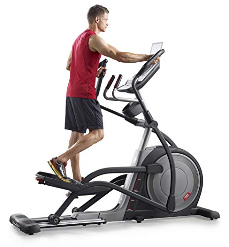 PRO-FORM Proform Trainer 7.0 Elliptical Bike, Front Wheel, Compatible with Bluetooth App iFit Cardio, Motorised Tilt Ramp 0-20°, 20 Resistance Levels, 28 Programs, Sports Use, Fitness, Well-Being