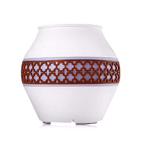 qijin Luftbefeuchter, Haushaltsluftmaschine Für äTherische ÖLe, Aromatherapiegerät, Ultraschalldiffusor, Sprühmaschine, Diffusor 117 * 113 mm/weiß