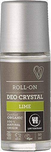 Urtekram Limonen-Deokristall Bio, Roll-On, 50 ml
