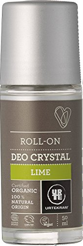 Urtekram Desodorante Cristal de Lima BIO, Roll-On, 50ml