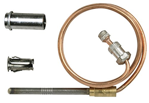 Honeywell CQ100A1021/U CQ100A1021 Replacement Thermocouple for Gas Furnaces, Boilers and Water Heaters, 18""