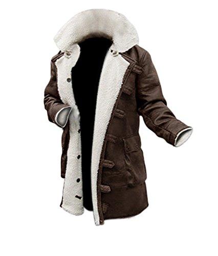 Red Smoke Herren Jacke Gr. X-Large, Bane Antique Brown Faux Coat