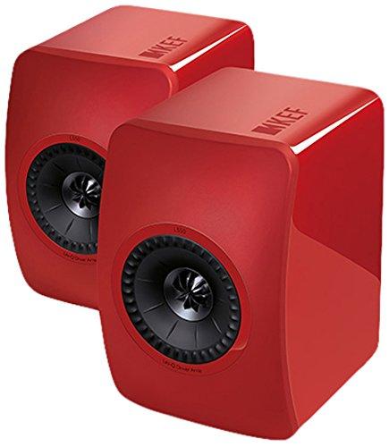 KEF LS50 Rouge Haut-Parleur -...