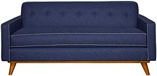 APT2B The Clinton Apt Sofa NAVY/MOUNTAIN GREY, 68