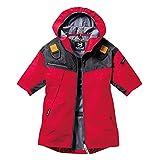 空調服 バートル フルハーネス対応 パーカー半袖ジャケット(単品) AC1096 レッド L