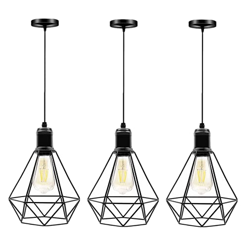 lampadario a sospensione nero industrial Lampada a sospensione Vintage