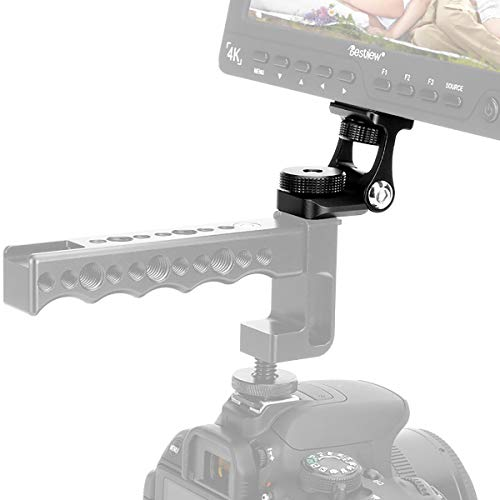 Ulanzi u-40 filettatura 1/Hot Shoe Mount fotocamera monitor Holder mini Ball Head Mount girevole adattatore per smartphone, fotocamere, videocamere, G