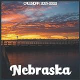 Nebraska Calendar 2021-2022: April 2021 Through December 2022 Square Photo Book Monthly Planner Nebraska small calendar