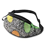 XCNGG Bolso de cintura corriente bolso de cintura de ocio bolso de cintura bolso de cintura de moda Chocolate Eggs Easter Fanny Pack Lightweight Waist Pack Unisex Slim Hip Bum Bag with Adjustable Stra