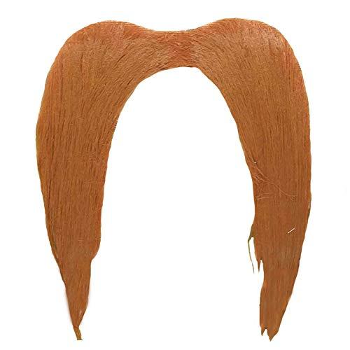 Sunstar Industries Self Adhesive Beard and Mustache Halloween Costume Accessory (Barber Beard)