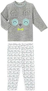 d64ac0ff72ee9 Petit Béguin - Pyjama bébé 2 pièces velours Petit Panda - Taille - 18 mois