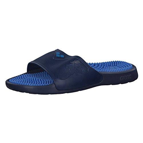 Arena Marco X Grip Hook, Zapatos de Playa y Piscina Unisex Adulto, Azul (Solid Fastblue 044), 37 EU