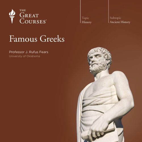 Famous Greeks audiobook cover art