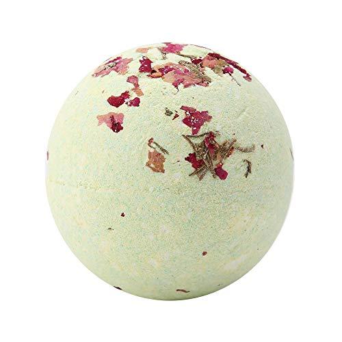 Bomba de baño, Aromaterapia Relajación Bomba de baño All Natural Ball Aceite esencial hecho a mano, SPA en casa, Alivio hidratante para el estrés de la piel(Maria Rose)