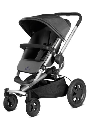 Quinny 79608310 - Buzz Xtra 4, Sportbuggy und Travelsystem, purple pace