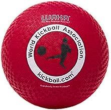WAKA Official Kickball - Adult 10 , Red