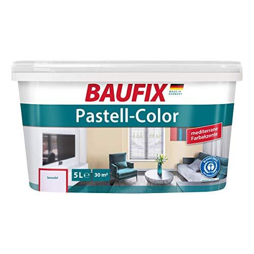 BAUFIX Pastell-Color Wand- & Deckenfarbe Lavendel
