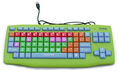 Plugable USB Kids Keyboard (Extra Large...