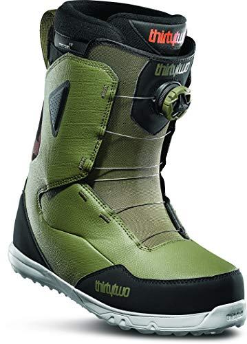 thirtytwo Men's Zephyr Boa '19/20 Snowboard Boot (Olive/Black, 6)