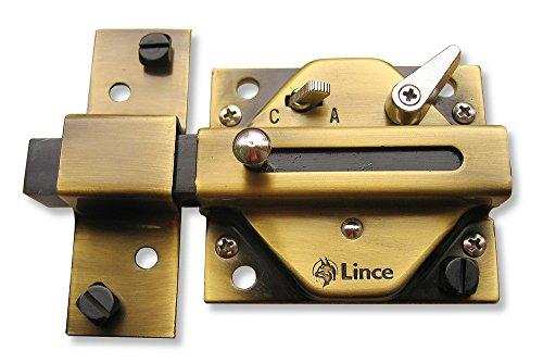 Lince 2940BI Cerrojo, 0 W, 0 V, Bronce Inglés