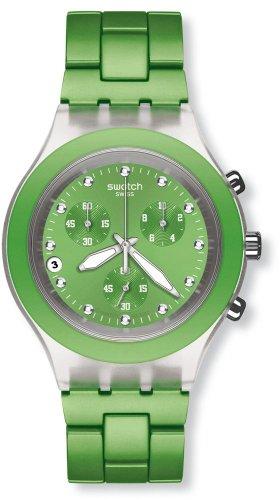 Swatch Reloj de Cuarzo Unisex Unisex Unisex Full-Blooded Lime SVCK4071AG 43.0 mm