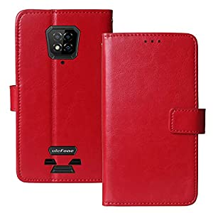 Lankashi Book Stand Premium Retro Business Flip Leather Protector TPU Silicone Case For Ulefone Armor 8/8 Pro 6.1