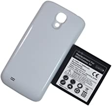 Bastex Samsung Galaxy S4 i9500 5200mAh Extended Battery + White Back Cover (Compatible with All Samsung Galaxy S 4 Models) Sprint, T-M0BILE AT@T VERIZON Cricket