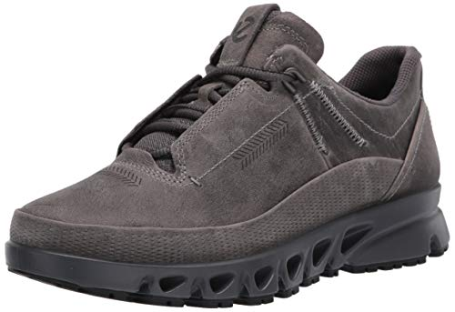 ECCO - Men's Multi-Vent Lace GORE-TEX SURROUND Athletic Sneaker, Titanium, 8-8.5 Medium US
