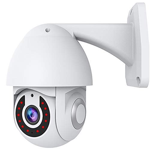 smart cameras Tuya Smart Camera HD 1080P Outdoor/Indoor Wireless WiFi IP Camera for Home Security Two Way Audio Auto Tracking Night Vision IP65 Waterproof, Compatible with Alexa & Google Home/Smart Life APP