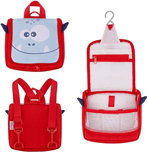 Kids Toiletry Bag by Intimom Cute Kids Wash Bag for Overnight Supplies Comfortable in Kids Hands product image