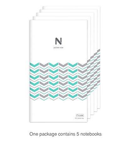 NEOLAB 5x Pocket Notebook Gitterlinien