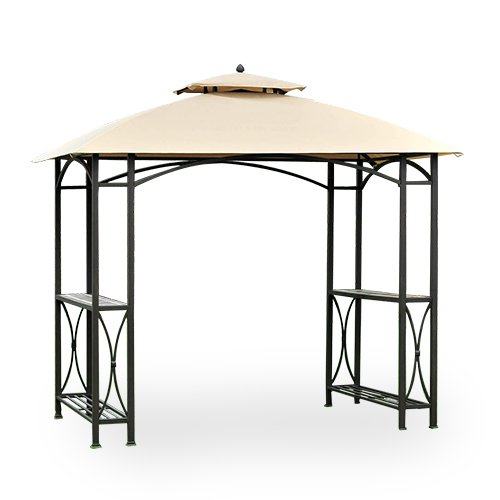 Garden Winds Replacement Canopy for Sheridan Grill Gazebo - Riplock 350 - Beige