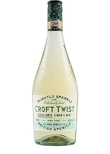 Croft Twist Vino Fino D.O. Jerez – 3 botellas de 750 ml – Total: 2250 ml