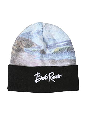 TV Movie Fashion Beanie and Skullcaps; Winter Hat Found at Hot Topic. (Doctor Who: Rainbow Stripe Tardis)