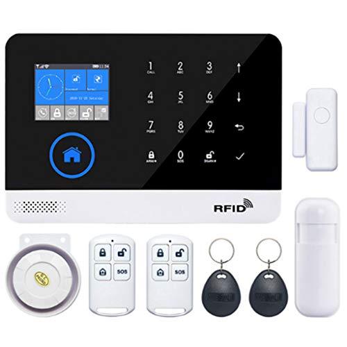 Jiay Kit de Tarjeta RFID de Control Remoto del Sistema de Alarma WiFi gsm 3G GPRS de Seguridad en el hogar