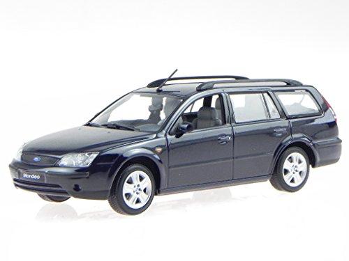 Ford Mondeo 2001 Turnier schwarz Modellauto Minichamps 1:43