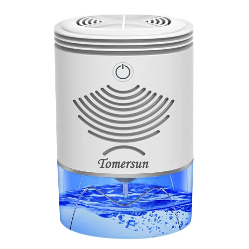Dehumidifier TOMERSUN 35oz Dehumidifiers for home 2600 Cubic Feet(280 sq ft) Mini Dehumidifier for Home,Basement,Closet,RV,Bedroom,Bathroom,Kitchen
