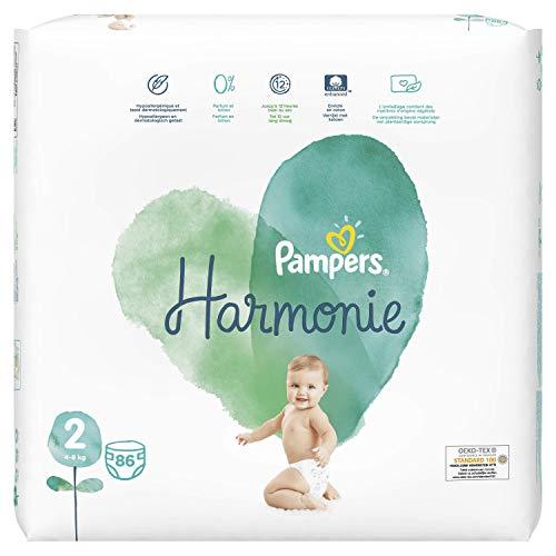 Pampers Harmonie Größe 2 86 Windeln, 4-8 kg, 2 Stück