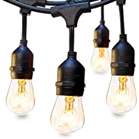 Addlon 48 FT Outdoor Commercial Grade Strand Edison Vintage Bulbs