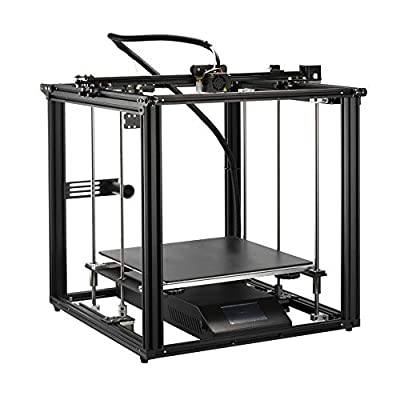 Comgrow Creality Ender-5 Plus 3D Printer, with BL touch, Glass Bed and Touch Screen, Dual Z Axis Lead Screw, Large Print Size of 350x350x400mm